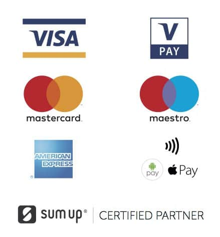 Payment details: We take debit, credit card or cash.
